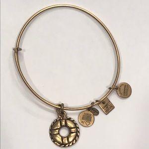Alex and Ani Gold Life Ring Bracelet